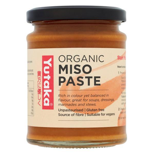 Unpasteurised Miso Paste Vegan, ORGANIC