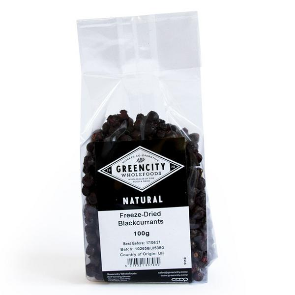 Blackcurrants Freeze Dried Vegan