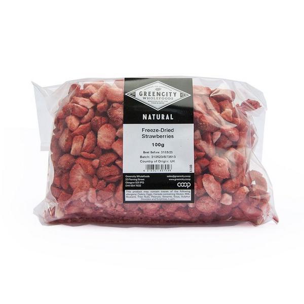 Freeze Dried Strawberries Vegan, ORGANIC