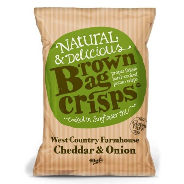 West Country Onions & Cheddar Crisps