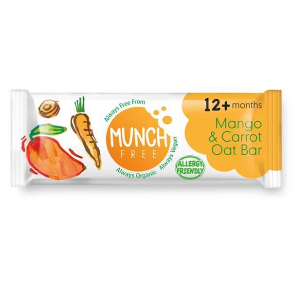 Mango & Carrot Oat Snackbar Gluten Free, Vegan, ORGANIC image 2