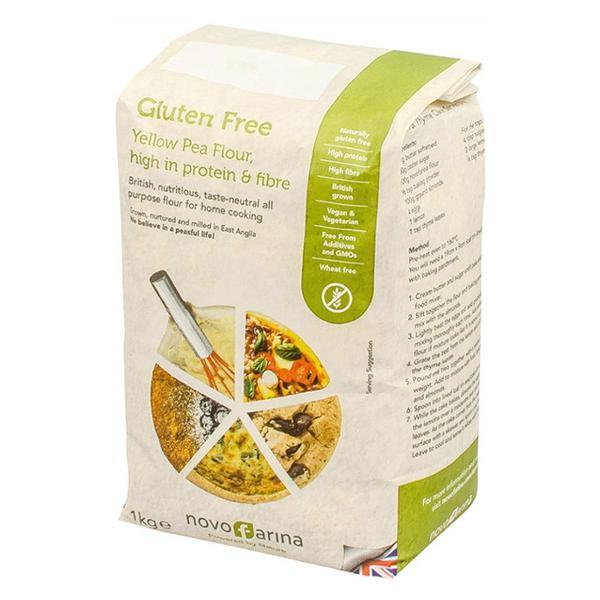 Yellow Pea Flour Gluten Free, Vegan