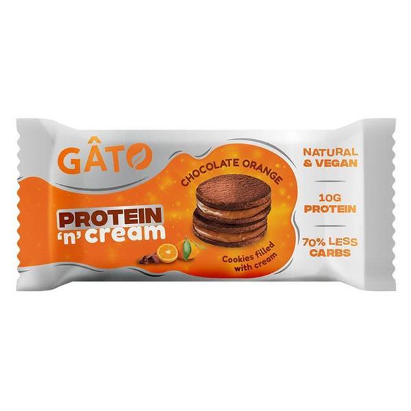 Chocolate Orange Protein 'n' Cream Cookies Vegan