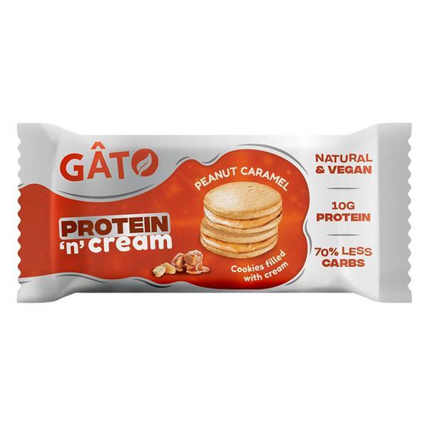 Protein 'n' Cream Peanut & Caramel Cookies Vegan