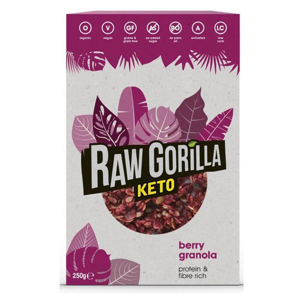 Berry Granola Gluten Free, Vegan, ORGANIC