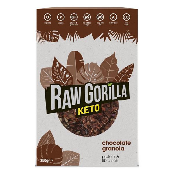 Keto Chocolate Granola Gluten Free, Vegan, ORGANIC
