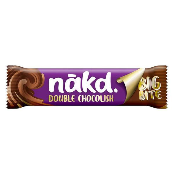 Double Chocolate Chocolish Big Bites Snackbar Vegan