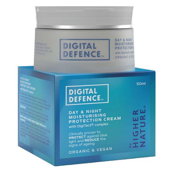 Digital Defence Protection Moisturising Day and Night Cream Vegan, ORGANIC