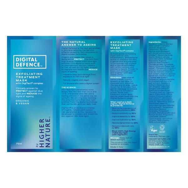 Digital Defence Exfoliating Treatment Mask Vegan, ORGANIC image 2
