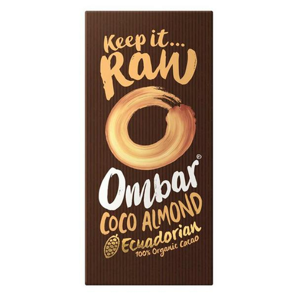 Coco Almonds Raw Chocolate Vegan, ORGANIC