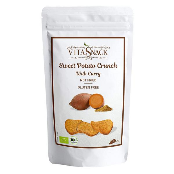Sweet Potato Crunch With Curry Gluten Free, Vegan, ORGANIC