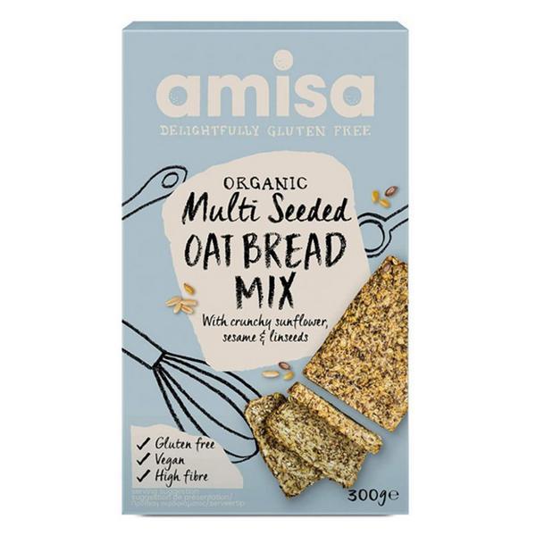 Multi seed Oat Bread Mix Vegan, ORGANIC