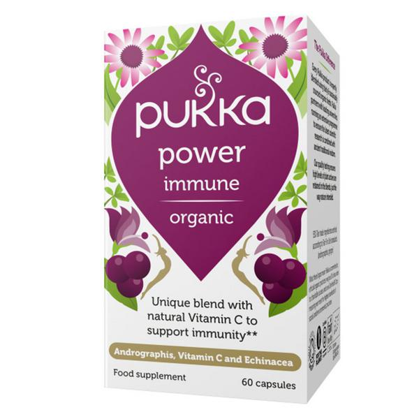 Power Immune Herbal Remedy Vegan, ORGANIC