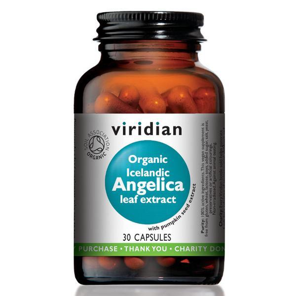 Organic Icelandic Angelica Extract Vegan