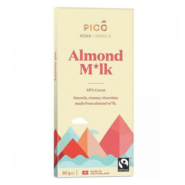 Almond Milk Chocolate Vegan, FairTrade, ORGANIC