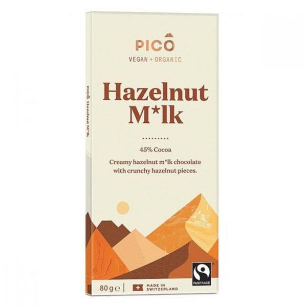 Hazelnut Butter Milk Chocolate Vegan, ORGANIC