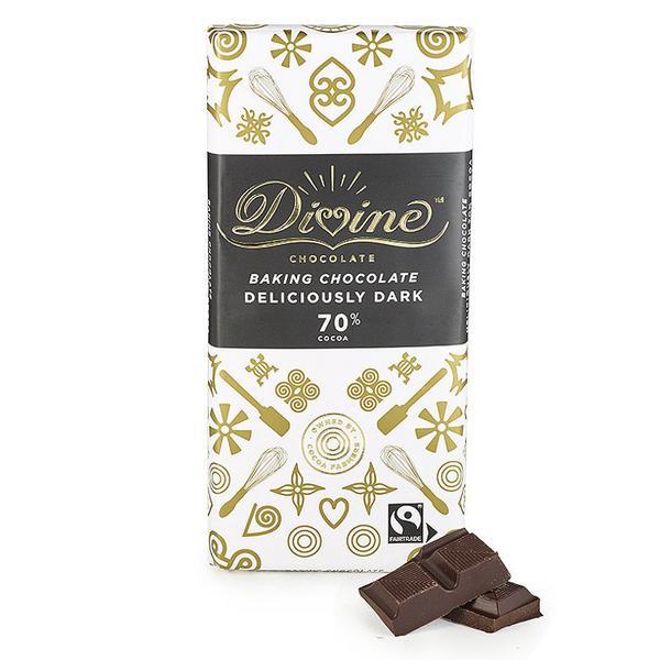 70% Baking Dark Chocolate Vegan