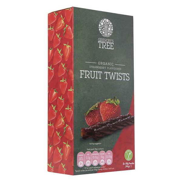 Strawberry Fruit Twist Multipack Gluten Free, Vegan, ORGANIC