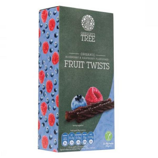 Blueberry & Raspberry Fruit Twist Multipack Gluten Free, Vegan, ORGANIC