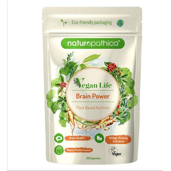 Vegan Life Brain Power Supplement Vegan
