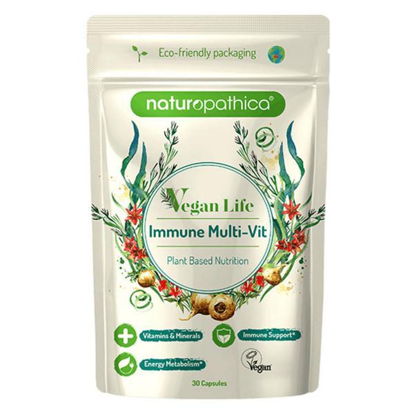 Vegan Life Immune Multi Vitamins and Minerals Vegan