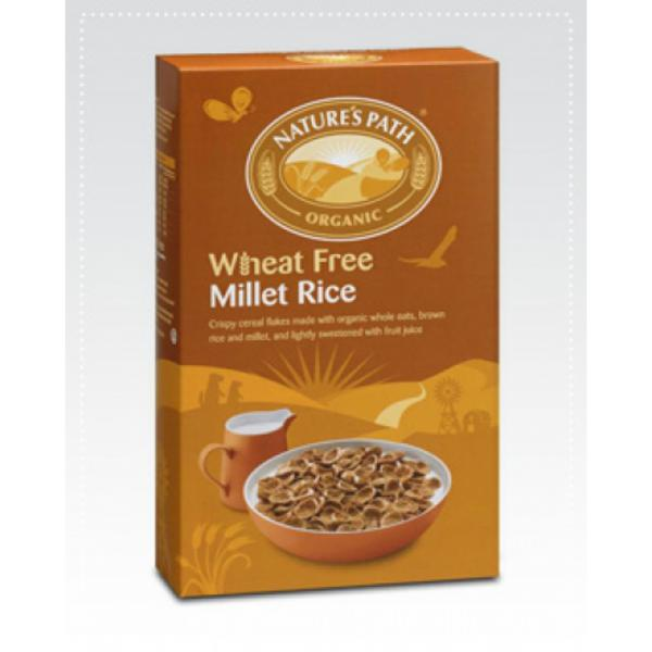 Millet Rice Cereal Flakes wheat free, ORGANIC