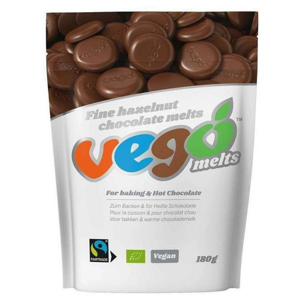 Hazelnut Chocolate Melts Vegan, ORGANIC