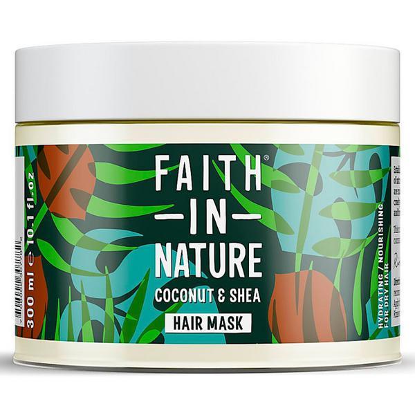 Hair Care Coconut & Shea Butter Mask Vegan, ORGANIC
