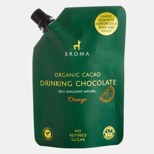 Drinking Chocolate Organic Cacao With Orange Vegan, ORGANIC