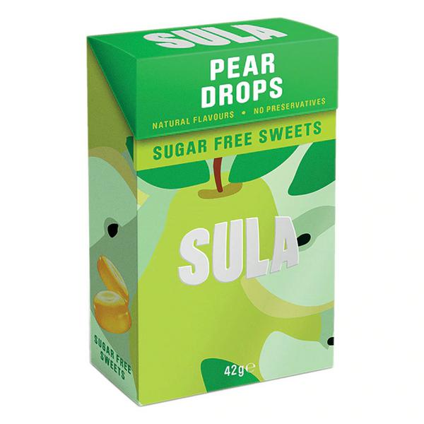 Pear Drops Sweets sugar free