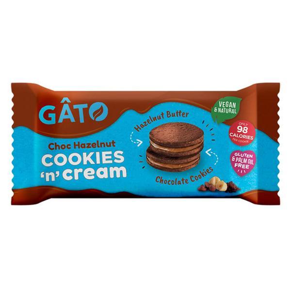 Cookies 'n' Cream Choc & Hazelnut Butter Cookies Vegan