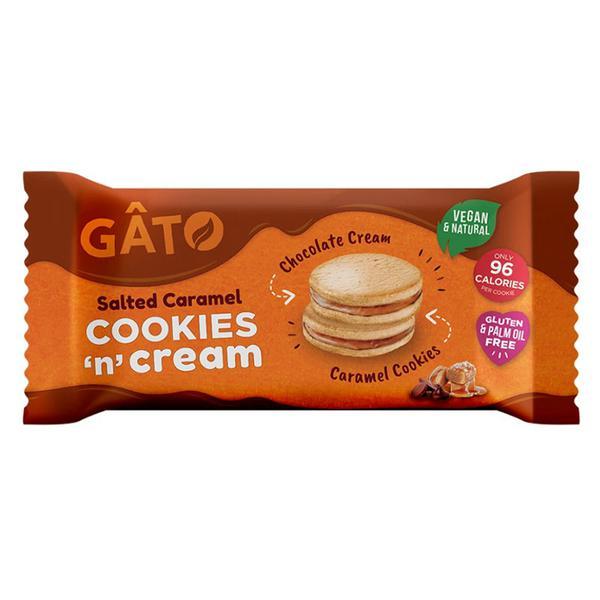 Cookies 'n' Cream Salted Caramel Cookies