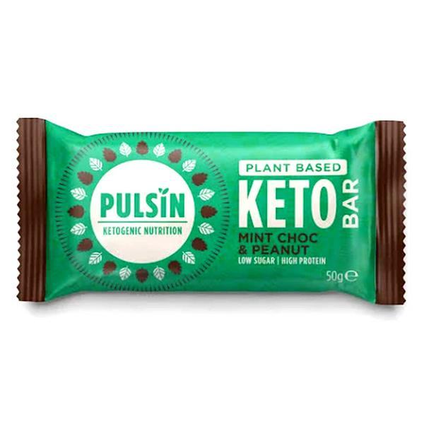 Mint Chocolate & Peanut Keto Snackbar Vegan