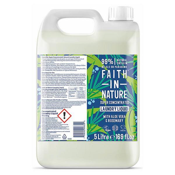 Aloe Vera & Rosemary Laundry Liquid Vegan