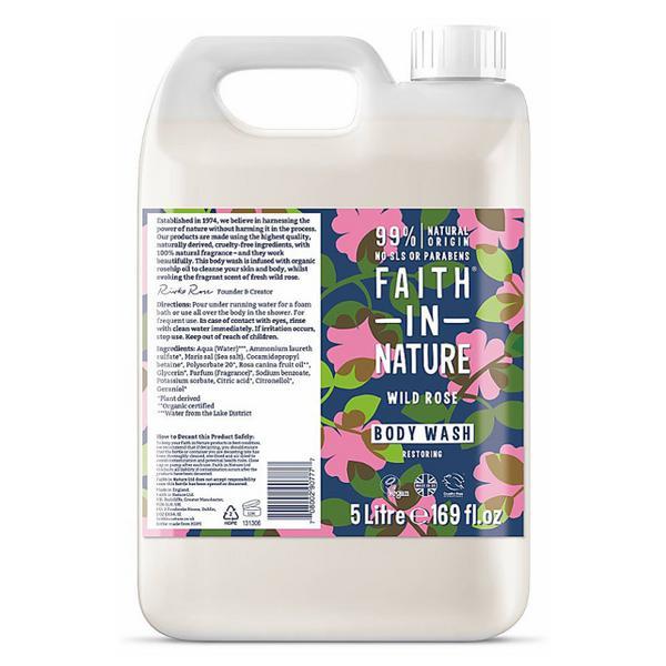 Wild Rose Body Wash Vegan