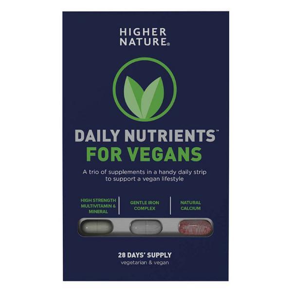 Daily Nutrients Multi Vitamins For Vegans Vegan