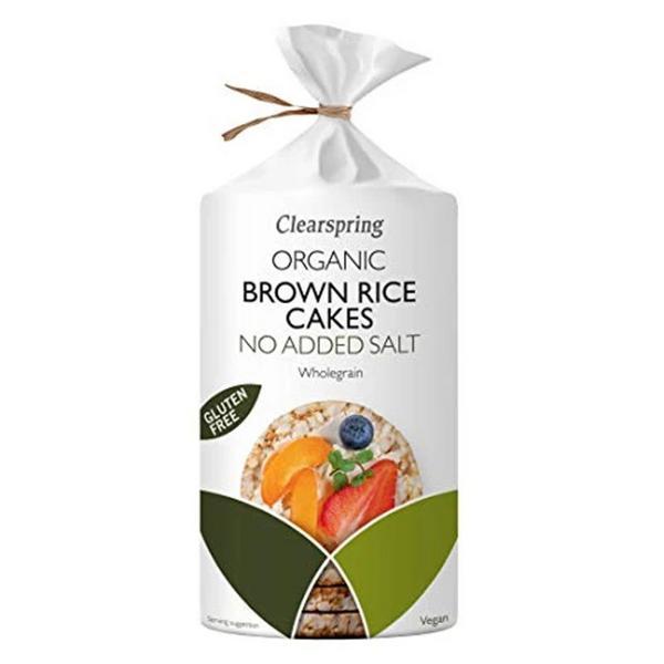 Brown Rice Cakes No Added Salt Gluten Free, Vegan, ORGANIC