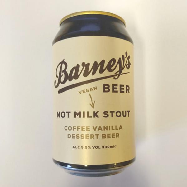 Not Milk Stout Coffee & Vanilla Dessert Beer Vegan, ORGANIC