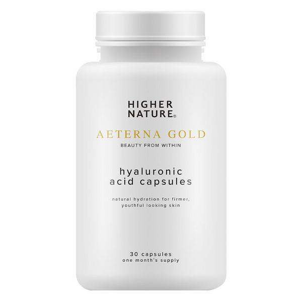Aeterna Gold Hyaluronic Acid Supplement Vegan
