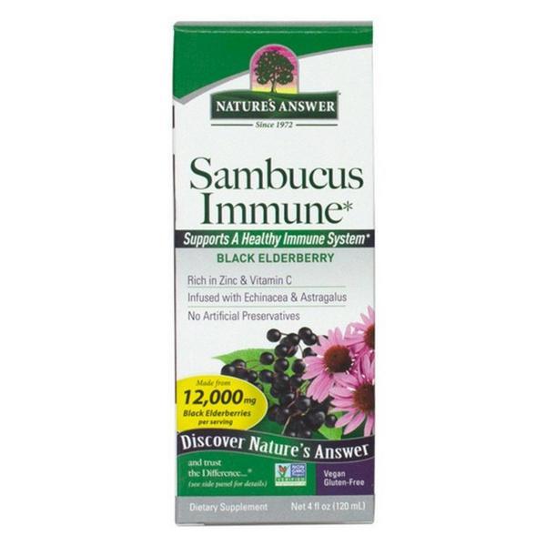 Sambucus Immune Defence Complex Gluten Free, Vegan