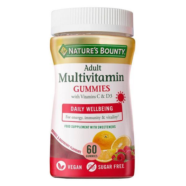 Adult Multivitamin Gummies Gluten Free, sugar free, Vegan