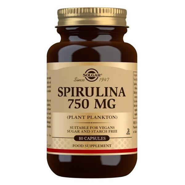 750mg Spirulina Gluten Free, Vegan