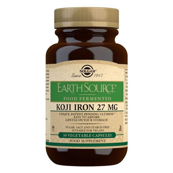 Koji Iron 27 mg Gluten Free, Vegan