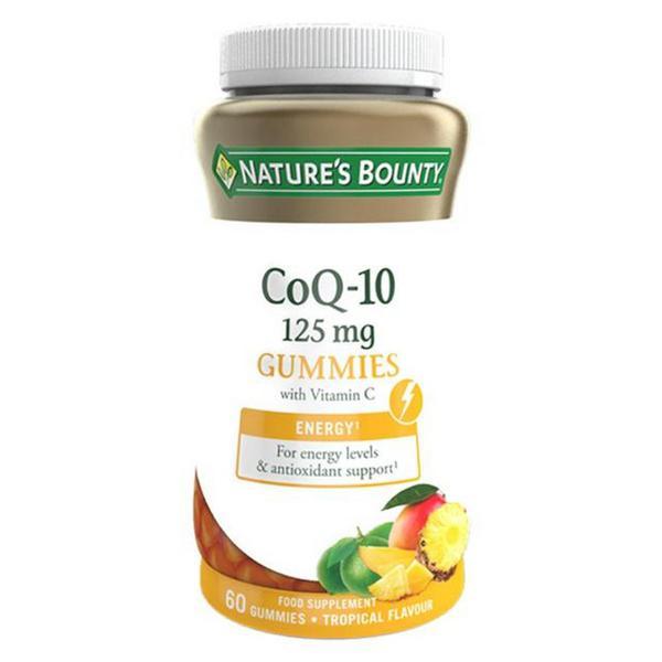 Coenzyme Q10 Gummies With Vitamin C Gluten Free, Vegan