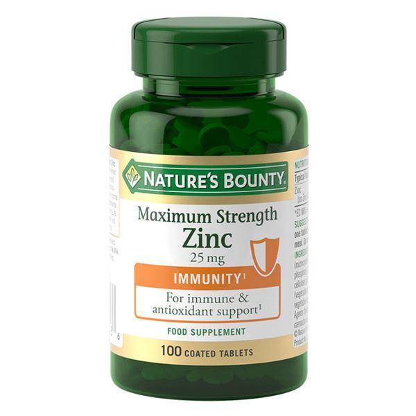 Maximum Strength Zinc Gluten Free, Vegan, ORGANIC