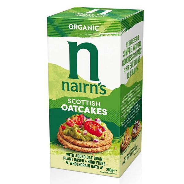 Oatcakes GMO free, Vegan, ORGANIC