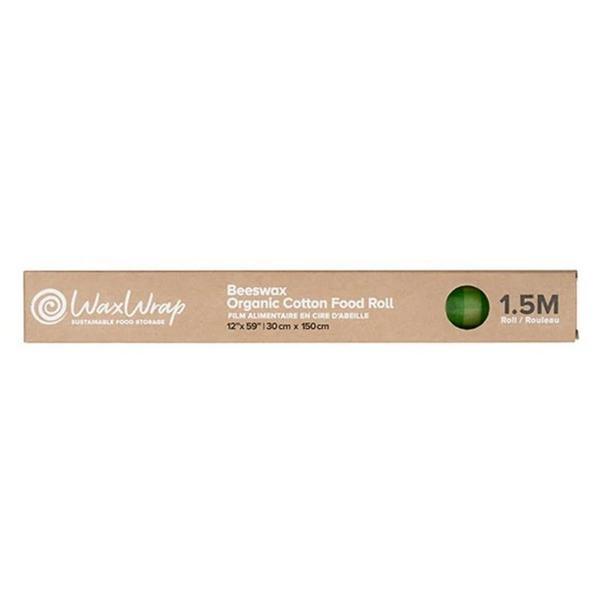 Medium Beeswax Cotton Food Roll ORGANIC