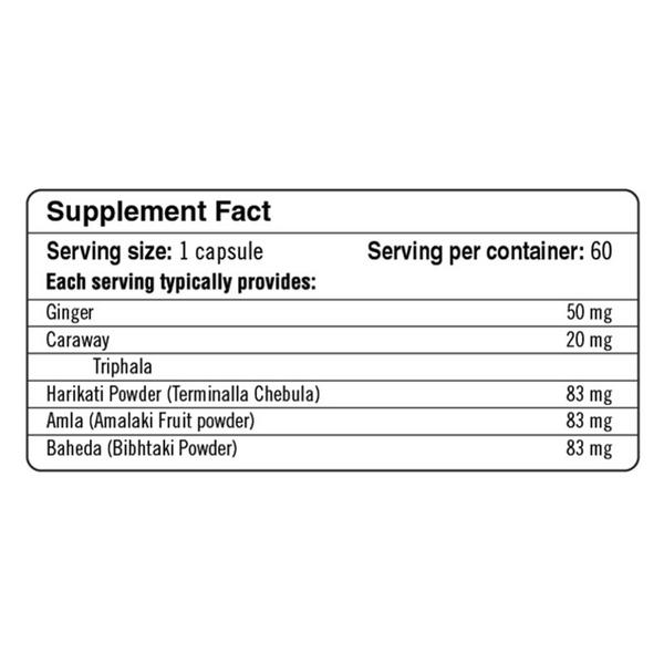 Gastro-Herbal Supplement Gluten Free, Vegan image 2