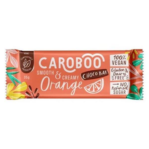 Orange Chocolate Bar Smooth & Creamy Gluten Free, Vegan