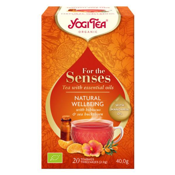 For The Senses Natural Wellbeing Tea Vegan, ORGANIC